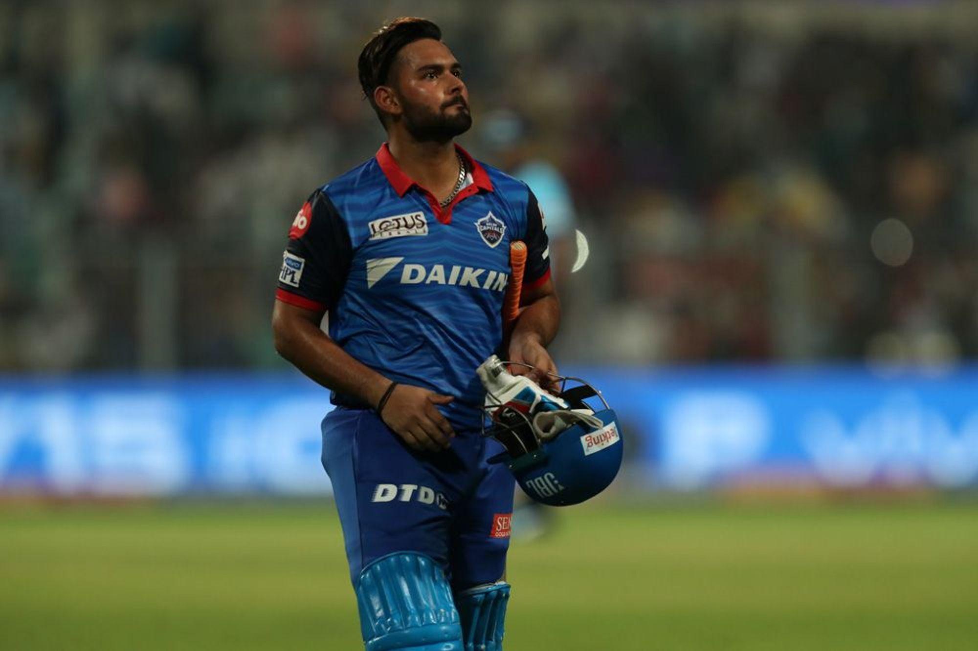 KKRvsDC : मैच के बाद ऋषभ पंत ने बताया विकेट होने के बाद भी क्यों अंत तक की धीमी बल्लेबाजी 1