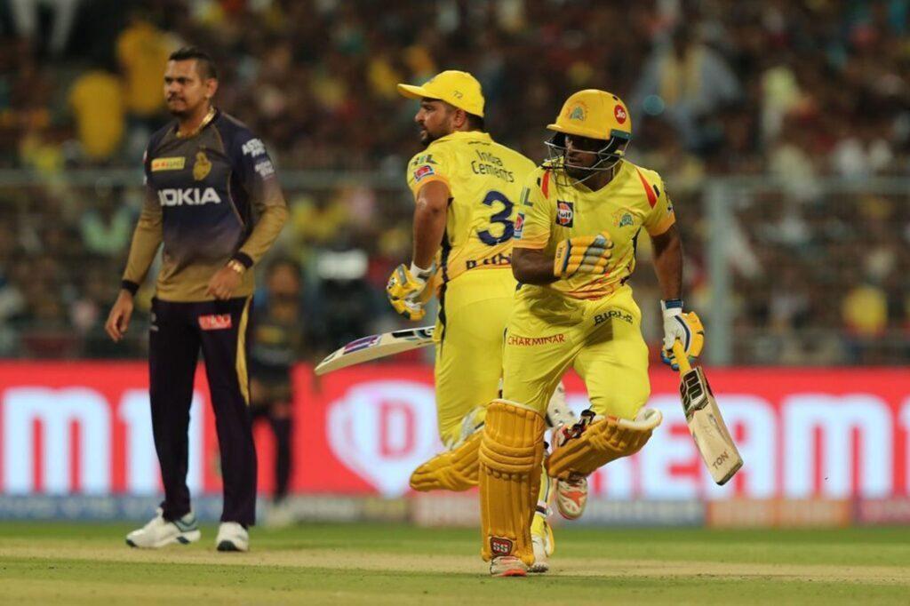 CSKvsKKR : रैना-जडेजा की दमदार पारियों के दम पर चेन्नई ने केकेआर को 5 विकेट से हराया 2