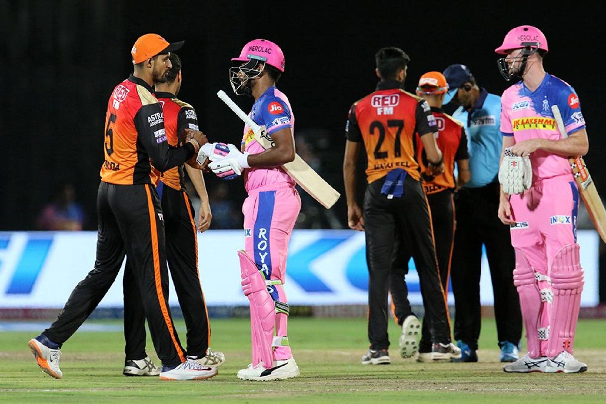 राजस्थान रॉयल्स के खिलाफ सनराइजर्स हैदराबाद की हार के ये रहे तीन प्रमुख कारण
