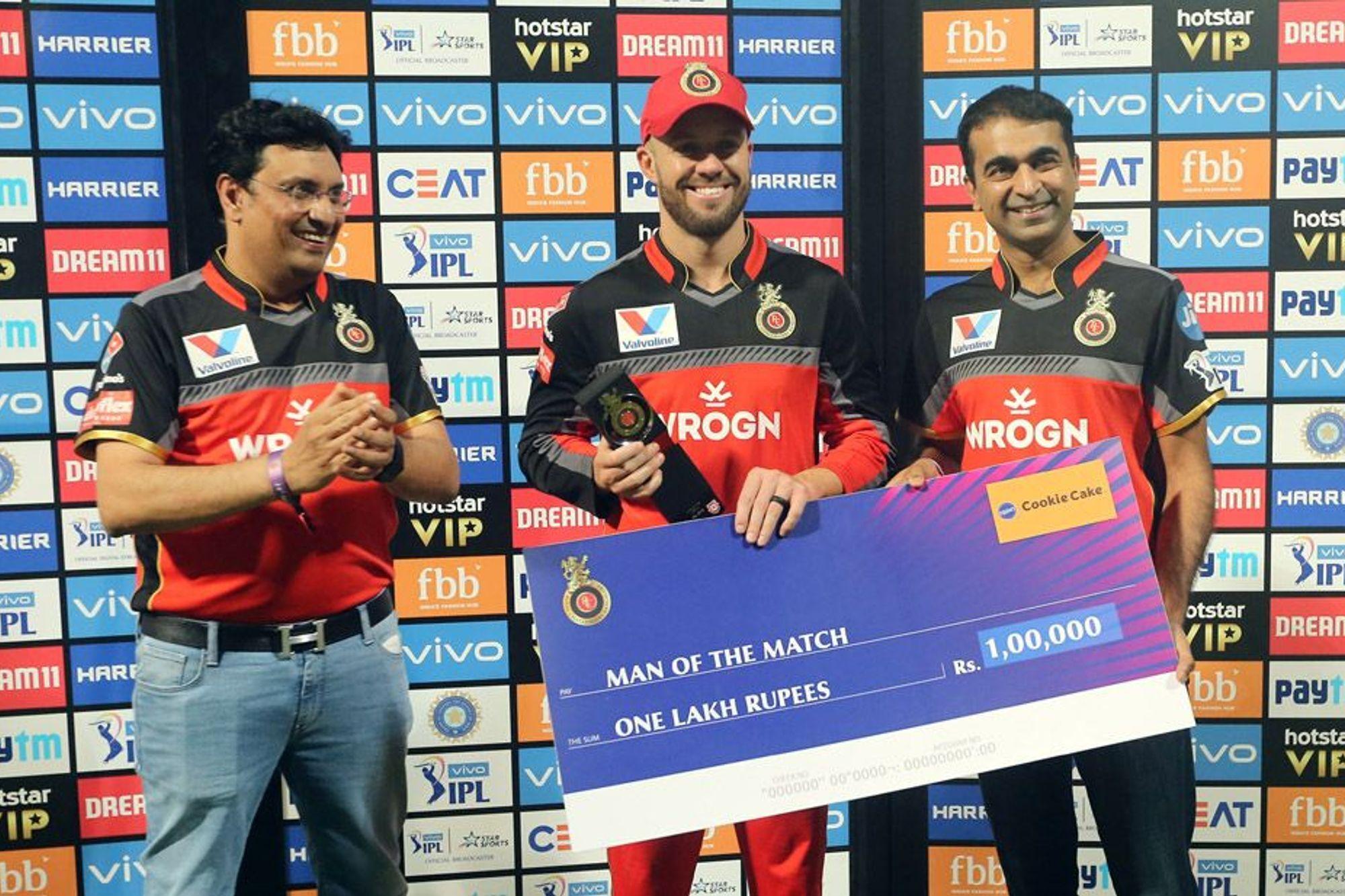 मैन ऑफ द मैच एबी डिविलियर्स ने बताया अपनी तूफानी बल्लेबाजी का असली राज 1