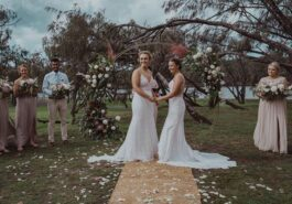 Women cricketers Hayley Jensen, Nicola Hancock wed