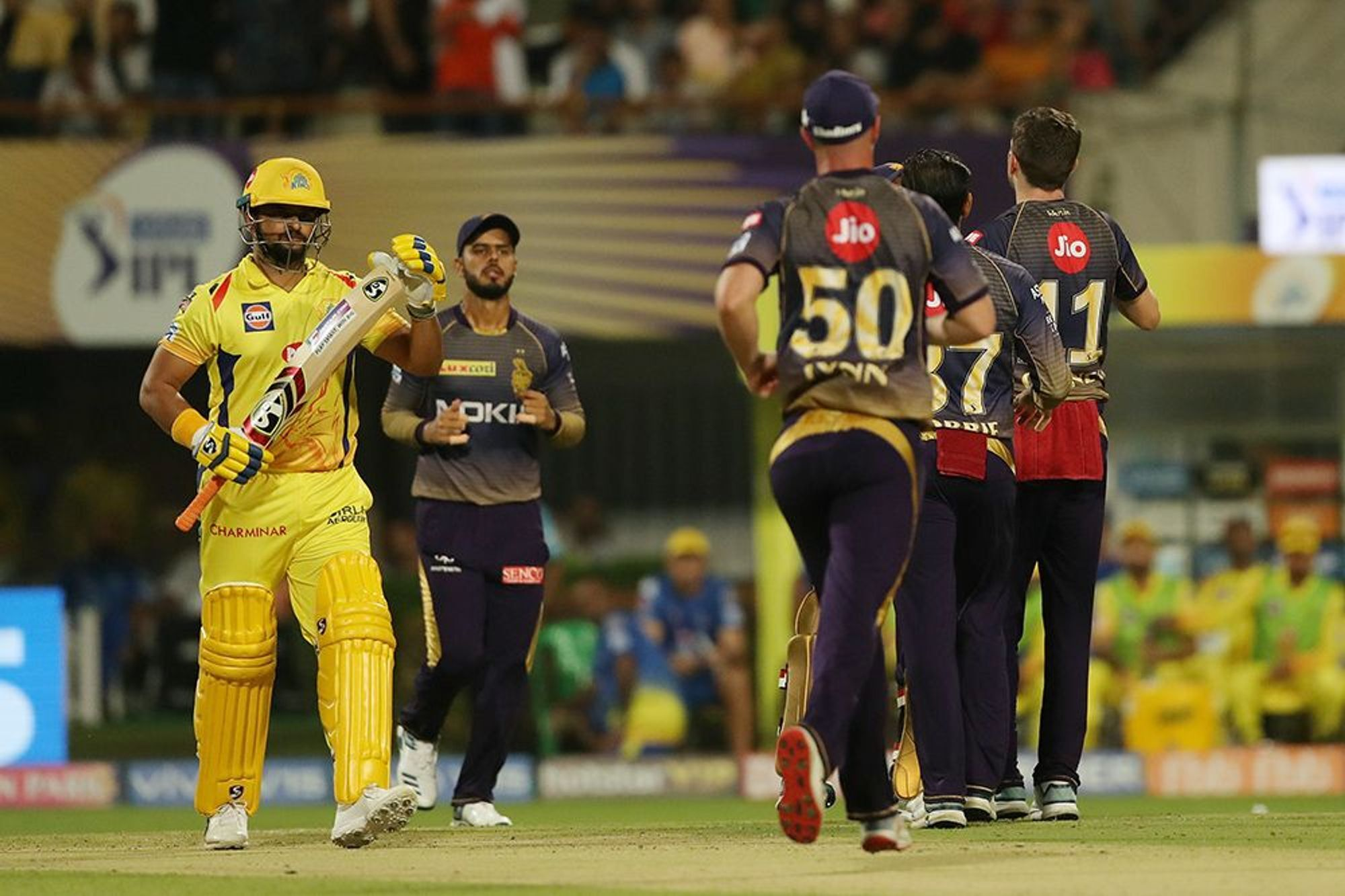 CSKvsKKR : रैना-जडेजा की दमदार पारियों के दम पर चेन्नई ने केकेआर को 5 विकेट से हराया