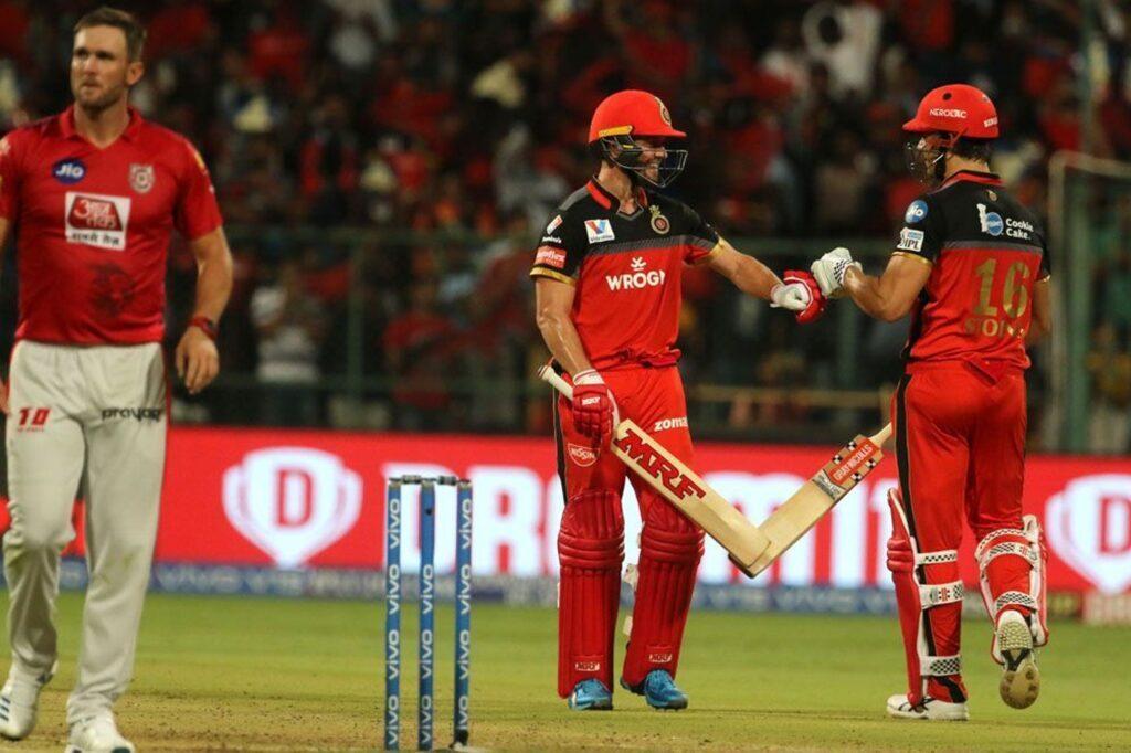 RCBvsKXIP :  डीविलियर्स की तूफानी पारी के दम पर आरसीबी ने पंजाब को 17 रन से हराया 2