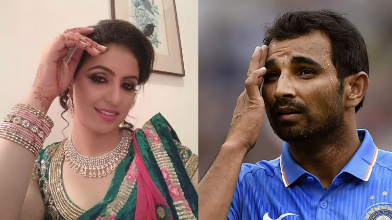 Shami's wife arrested, released after crushing