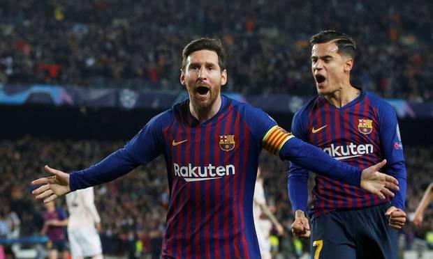 फुटबाल : बार्सिलोना चैम्पियंस लीग के सेमीफाइनल में