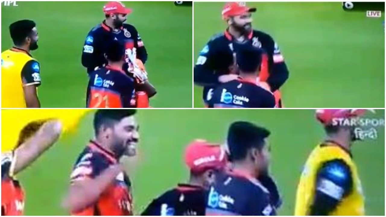 WATCH : एक रन से मैच जीतने के बाद पार्थिव पटेल को गोदी में उठा कर घूमें मोहम्मद सिराज 32