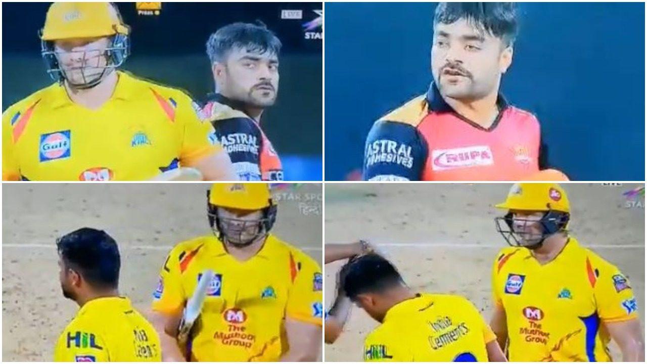 वीडियो: राशिद खान ने खोया मैदान पर आपा, शेन वाटसन को सरेआम दी गाली 17