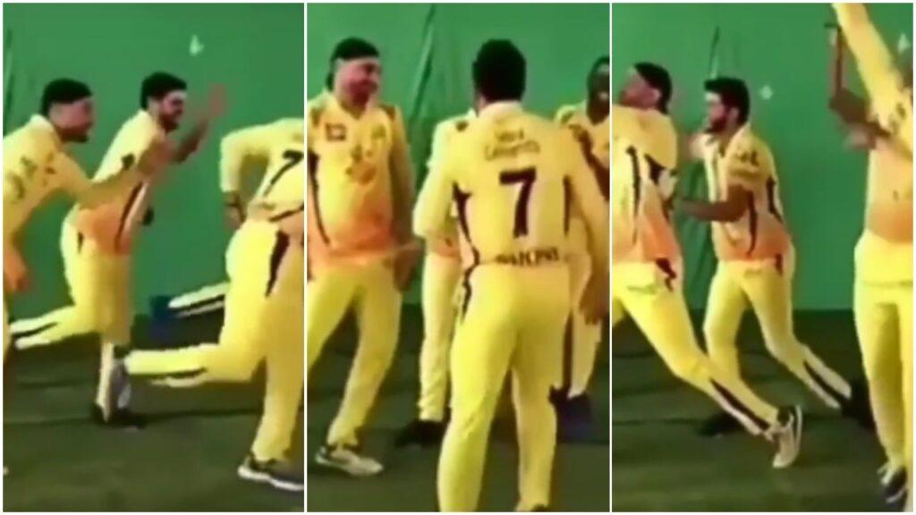 WATCH: महेंद्र सिंह धोनी समेत चेन्नई सुपर किंग्स के खिलाड़ियों का फनी डांस, वीडियो वायरल 2