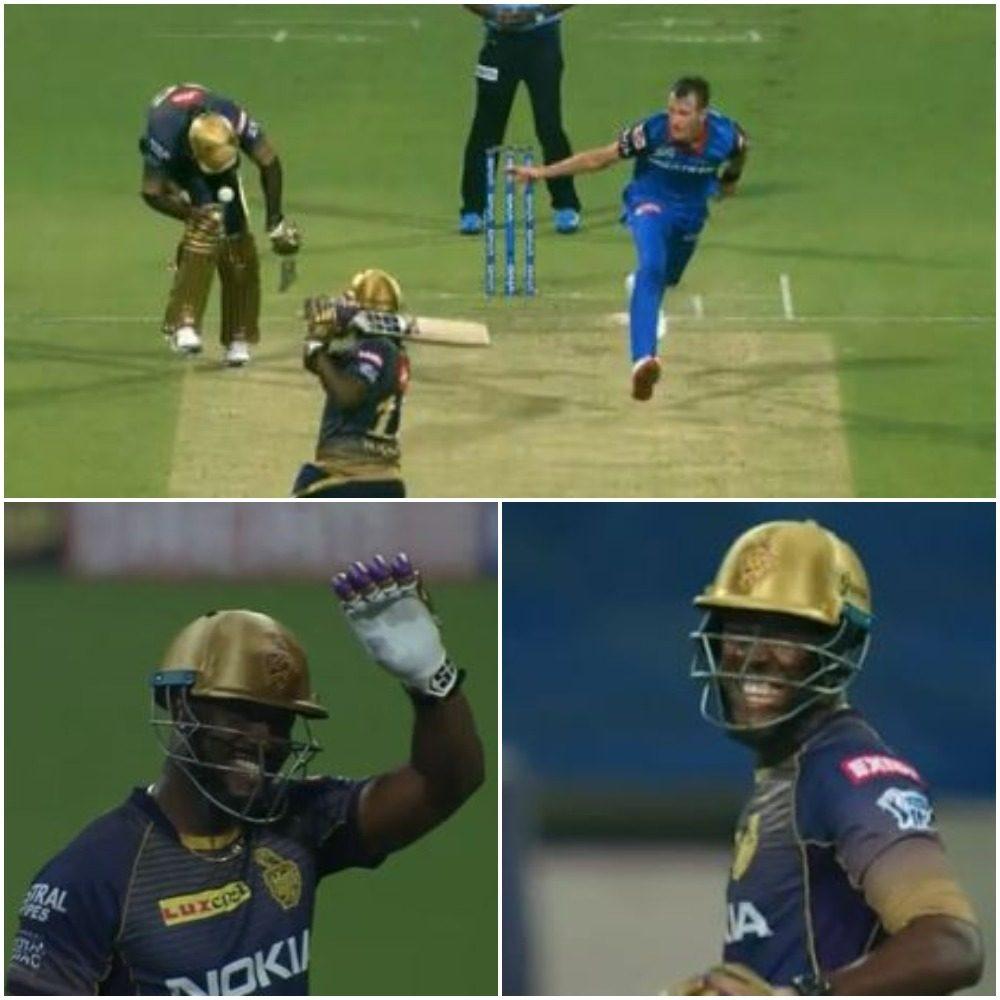 WATCH : आंद्रे रसेल ने खेला सबसे खतरनाक टी-20 शॉट, बाल-बाल बचा यह खिलाड़ी 55