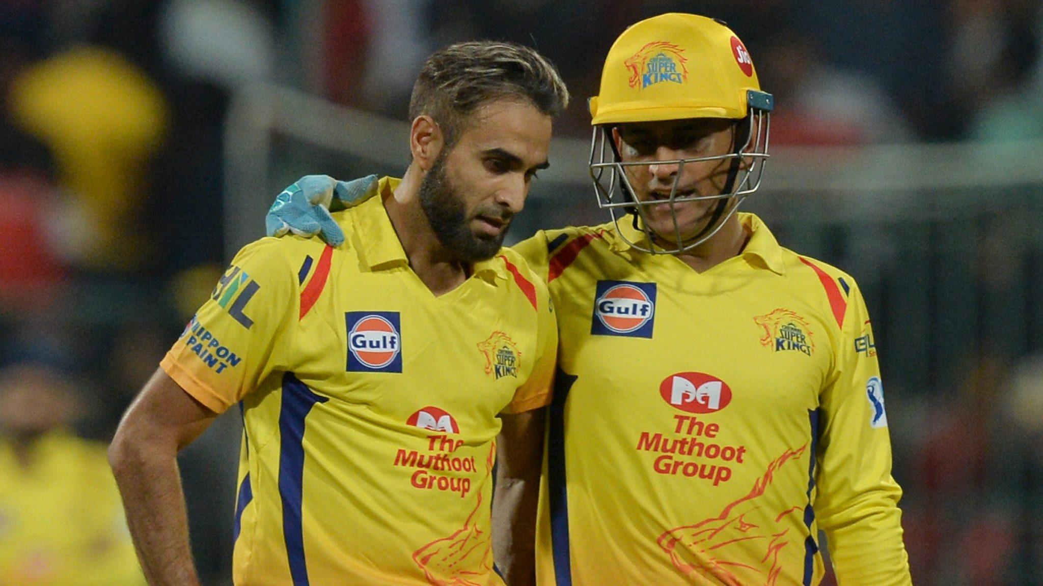 IPL 2019- धोनी ने बनाया इमरान ताहिर के विकेट लेने के बाद जश्न मनाने के अंदाज का मजाक, कहा इस वजह से नहीं देता बधाई 8