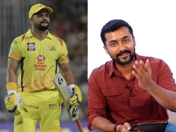 सुरेश रैना ने सिंघम फेम अभिनेता सूर्या से पूछा उनका पसंदीदा क्रिकेटर, मिला ये जवाब 5