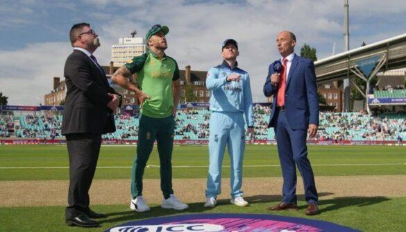 ICC CRICKET WORLD CUP 2019: विश्व कप के पहले ही मैच में इयोन मॉर्गन ने रचा इतिहास, बने इंग्लैंड के पहले खिलाड़ी 51