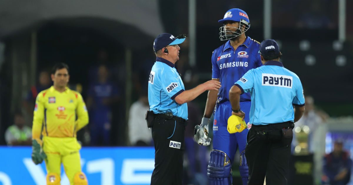 आईपीएल में इन मैचों में अंपायरिंग नहीं खराब होती तो आज मुंबई इंडियंस नहीं होता विजेता 15