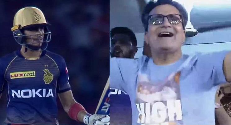 IPL 2019- शुभमन गिल के पिता ने बेटे के अर्द्धशतक के बाद किया भांगड़ा तो शाहरूख खान ने दिया ये तोहफा 13