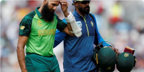 WATCH : जोफ्रा आर्चर की खतरनाक बाउंसर गेंद पर हाशिम अमला हुए चोटिल, हुए रिटायर हर्ट 1