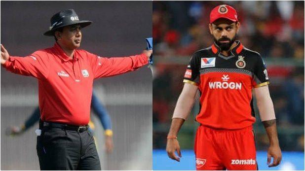 CWC 2019- नो बॉल मामले में विराट कोहली से पंगा लेना पड़ा अंपायर एस रवि को भारी, आईसीसी ने सुनाई ये सजा 4