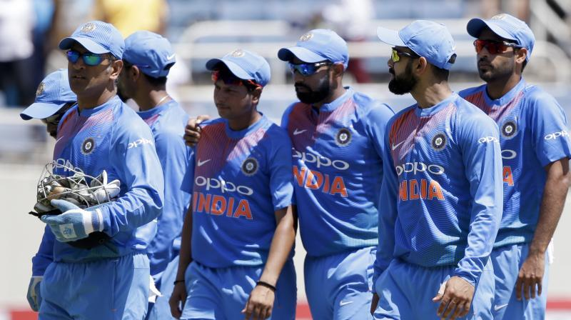 Indian team slips to fifth place in T20 ranking
