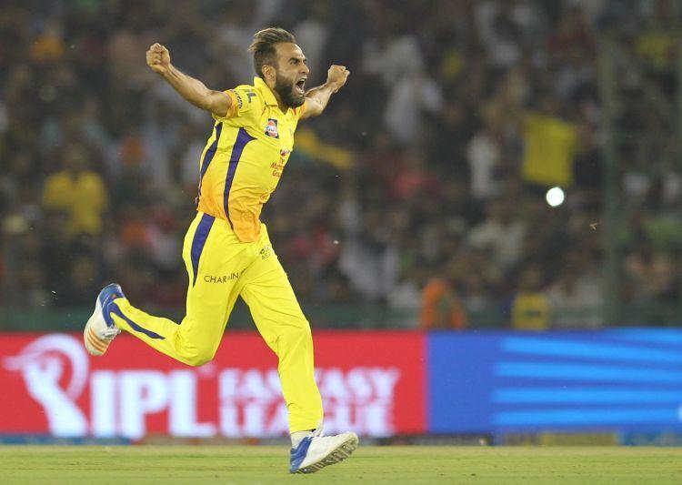 IPL 2019- धोनी ने बनाया इमरान ताहिर के विकेट लेने के बाद जश्न मनाने के अंदाज का मजाक, कहा इस वजह से नहीं देता बधाई 3