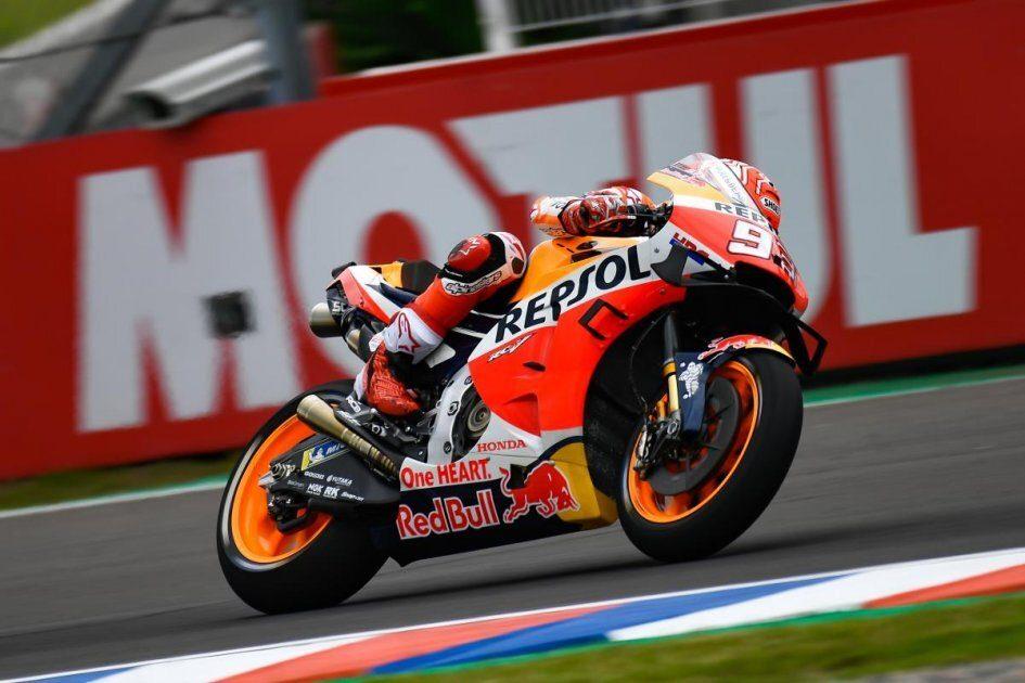 MotoGP: Marquez third place in second qualifier