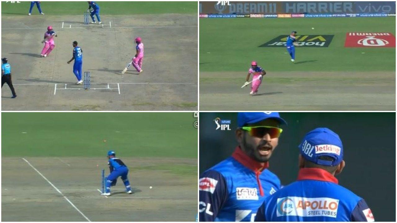 आईपीएल 2019: DC vs RR: 4.2 ओवर में अपनी इस बड़ी गलती के चलते रन आउट हुए संजू सैमसन, वीडियो देख नहीं रुकेगी आपकी हंसी 1