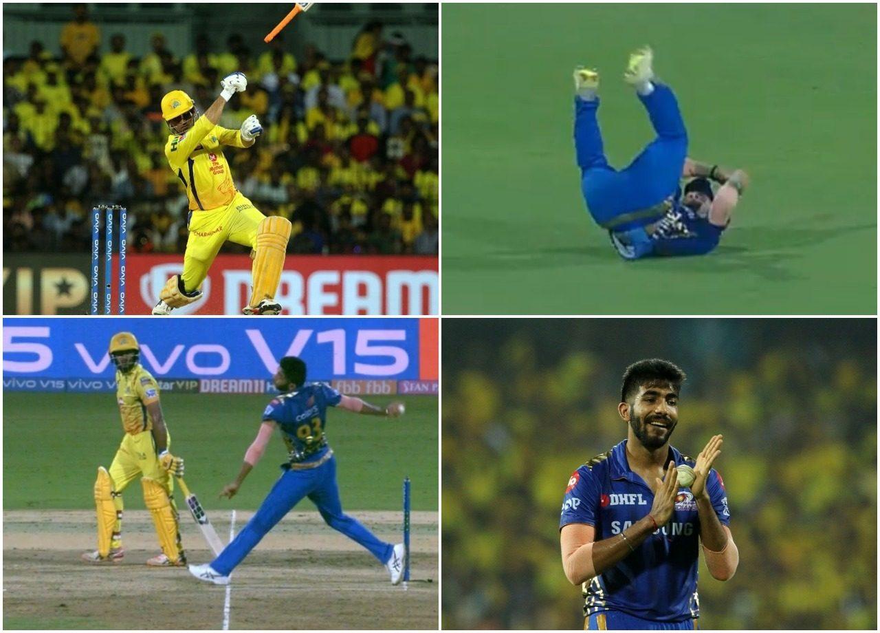 आईपीएल 2019: अंतिम ओवर में एमएस धोनी को नो बॉल डालना जसप्रीत बुमराह को पड़ा महंगा, सोशल मीडिया पर खूब उड़ा मजाक 3