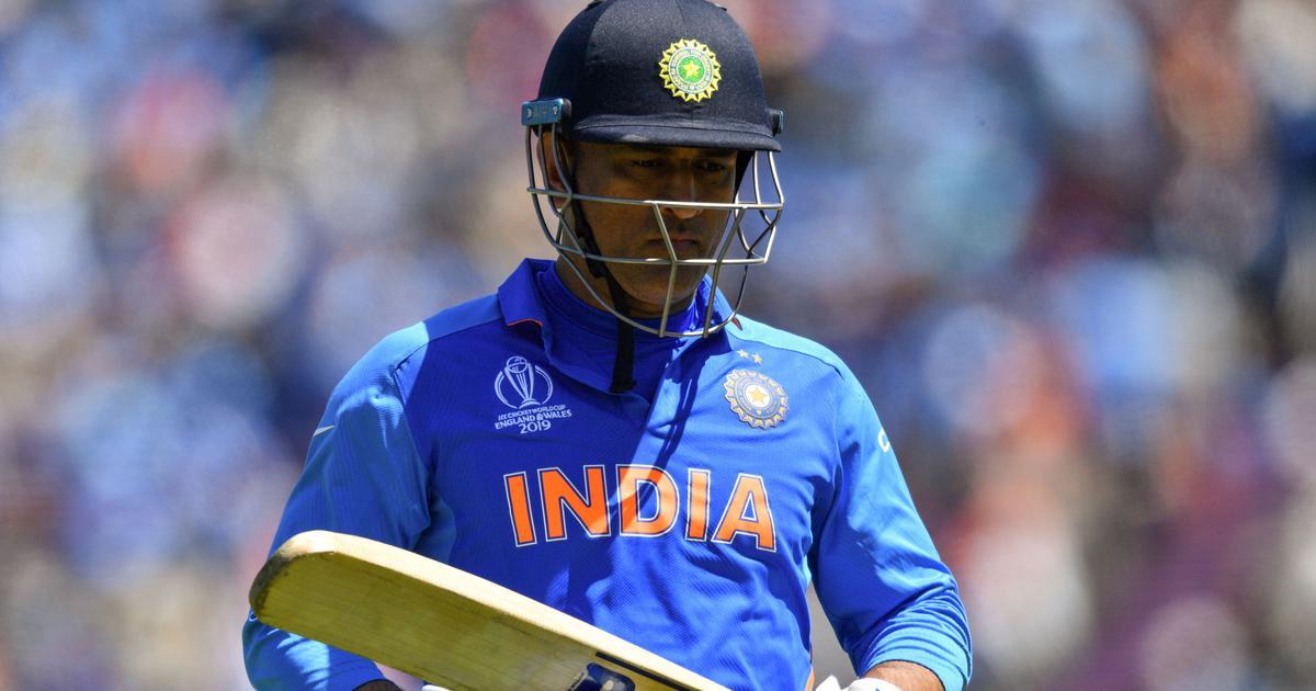 CWC 2019- महेन्द्र सिंह धोनी की धीमी बल्लेबाजी पर अब सचिन के बाद इस दिग्गज भारतीय ने उठाए सवाल, कहा किसी दिन उन्हें होगा इसका पछतावा 10