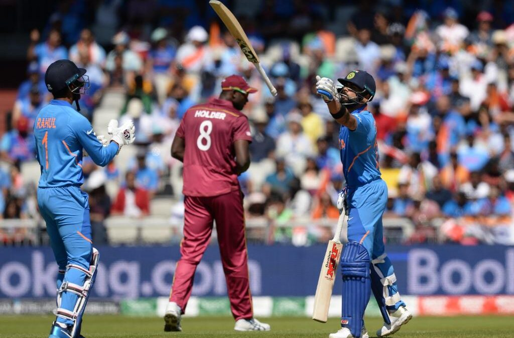 WORLD CUP 2019: भारत के वेस्टइंडीज के सामने रखा 269 रनों का लक्ष्य