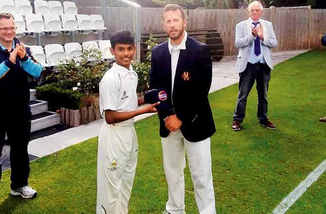 भारत के 16 साल के युवा सितारें साहिल जाधव का इंग्लैंड में धमाल, कर रहे हैं रनों की बारिश 8