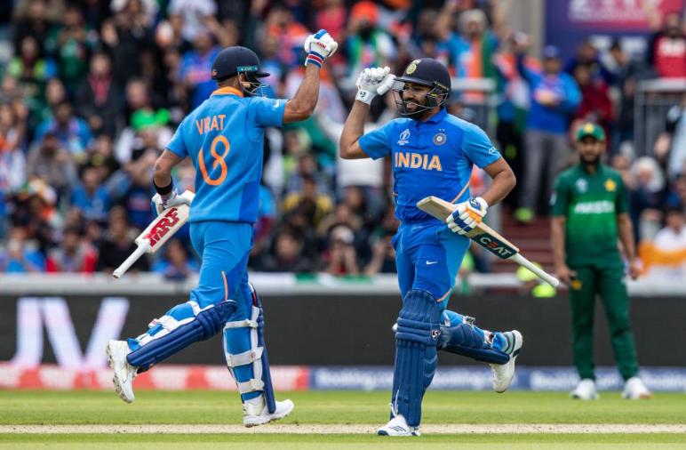 CWC 2019: IND vs PAK: स्टैट्स: रोहित और विराट ने की रिकार्ड्स की बारिश, मैच में बने 8, 10 या 12 नहीं पूरे 17 ऐतिहासिक रिकार्ड्स