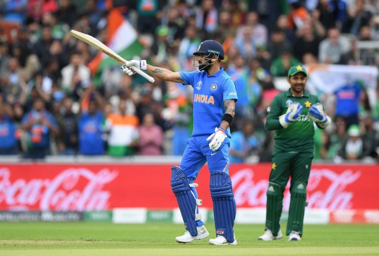 CWC 2019: IND vs PAK: स्टैट्स: रोहित और विराट ने की रिकार्ड्स की बारिश, मैच में बने 8, 10 या 12 नहीं पूरे 17 ऐतिहासिक रिकार्ड्स 3
