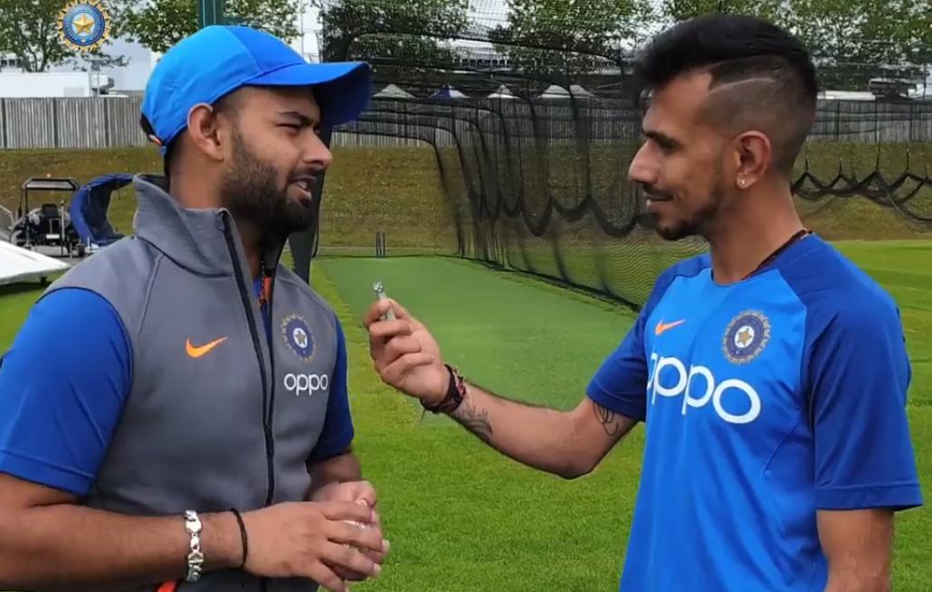 CWC-2019: विश्व कप टीम में शामिल होने की बात सबसे पहले ऋषभ पंत ने अपने इस ख़ास को बताई 1
