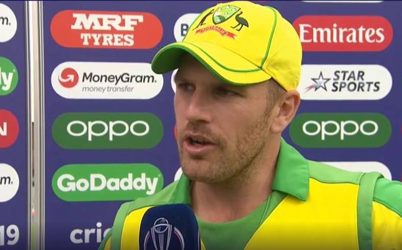 CWC 2019, AUSvsPAK: ऑस्ट्रेलिया के कप्तान आरोन फिंच जीत के बावजूद हैं निराश 15