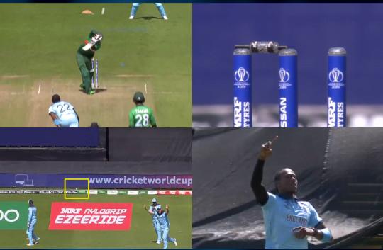 WATCH: विकेट में लगने के बाद भी छक्के के लिए गई जोफ्रा आर्चर की गेंद, फिर हुआ कुछ ऐसा 13
