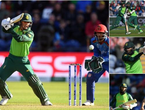 AFGvsSA :  मैच में बने 7 रिकॉर्ड, इमरान ताहिर और डी कॉक ने बनाए कई शानदार रिकॉर्ड 4