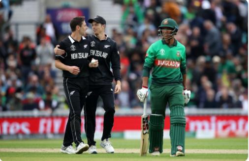 NZvsBAN : रॉस टेलर की शानदार पारी के दम पर न्यूजीलैंड ने बांग्लादेश को 2 विकेट से हराया 2