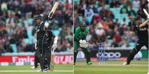 NZvsBAN : रॉस टेलर की शानदार पारी के दम पर न्यूजीलैंड ने बांग्लादेश को 2 विकेट से हराया 4