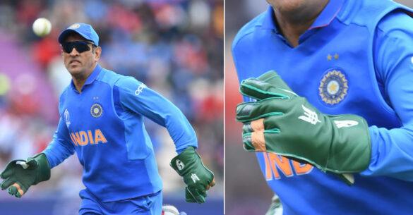ICC कर रहा धोनी के साथ नाइंसाफी, किसी भी नियम को नहीं तोड़ता धोनी का बलिदान बैज 6