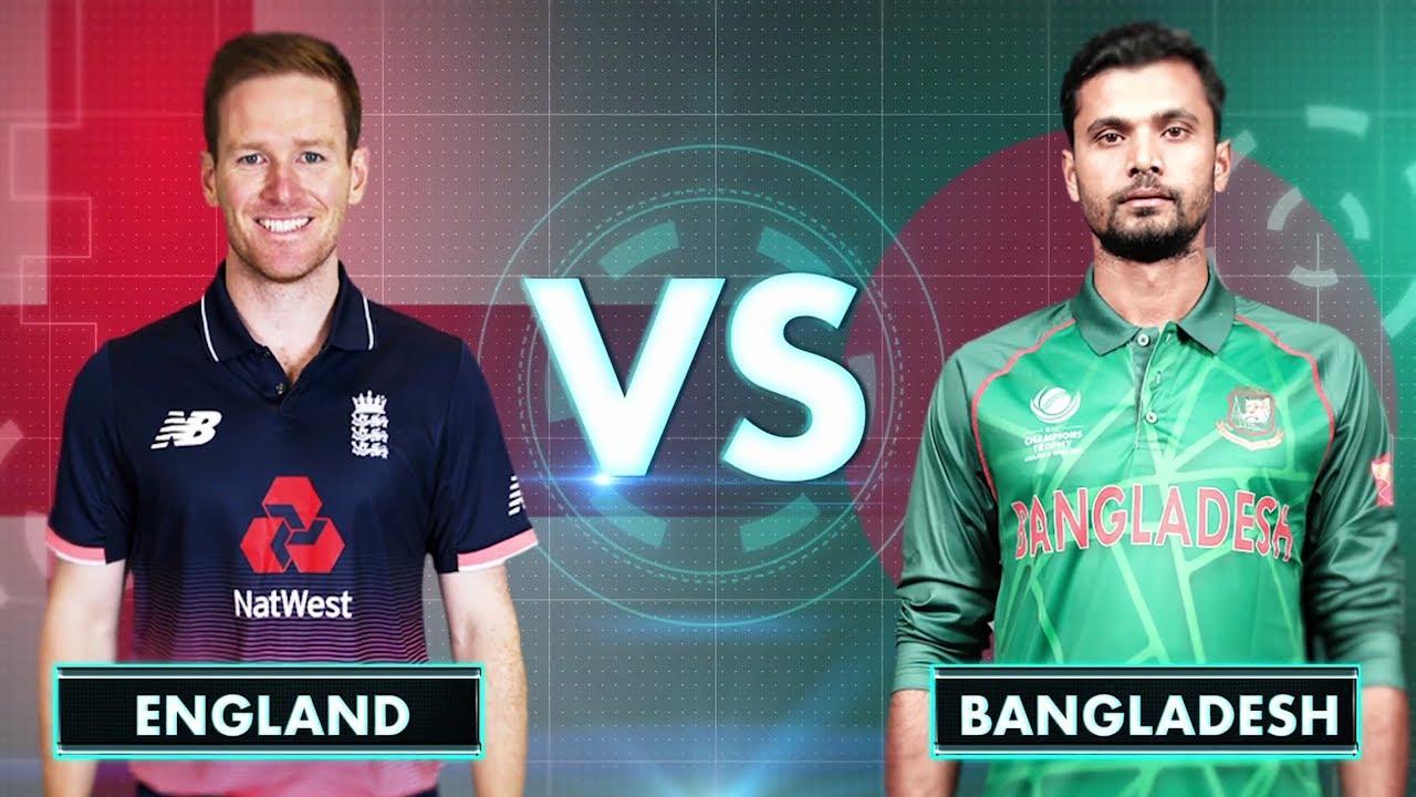 CWC19-इंग्लैंड बनाम बांग्लादेश मैच प्रीव्यू: जाने कब, कहां और किस चैनल पर होगा प्रसारण और कौन होगा विजेता 7