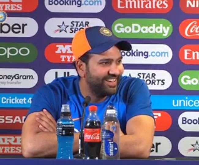 INDvsSL : 'मैन ऑफ़ द मैच' रोहित शर्मा ने बड़ा दिल दिखाते हुए खुद को नहीं बल्कि इस खिलाड़ी को बता डाला 'चैंपियन'