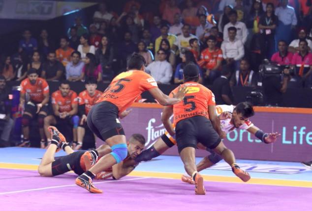 प्रो कबड्डी लीग 2019: अनूप कुमार की पुणेरी पलटन को फिर मिली हार, पहली जीत का इंतजार हुआ लंबा 8