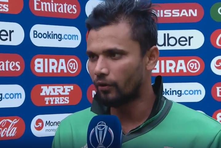 CWC 2019, PAKvsBAN: बांग्लादेशी कप्तान मशरफे मुर्तजा ने संन्यास की अटकलों के बीच बताया अपना फैसला 1