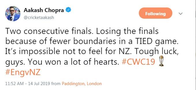 विश्व कप फाइनल में न्यूजीलैंड की हार के बाद एक बार फिर निशाने पर आईसीसी नियमों पर उठने लगी ऊँगली 6