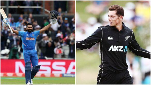 न्यूजीलैंड भारत मैच से पहले मिचेल सैंटनर और रोहित ने खोली अपनी टीम के खिलाड़ियों की पोल 13
