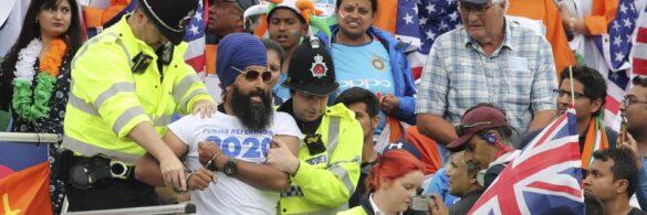 CWC19- मैच के दौरान पंजाबियों ने किया भारत से यह स्थान स्वतंत्र करने का अनुरोध, पुलिस ने किया गिरफ्तार 53