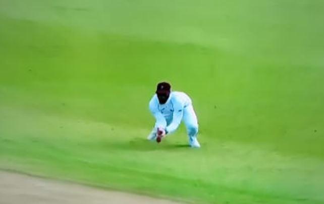 WATCH: किस्मत के धनी हैं अजिंक्य रहाणे, आउट होने के बाद भी कर रहे बल्लेबाजी 5