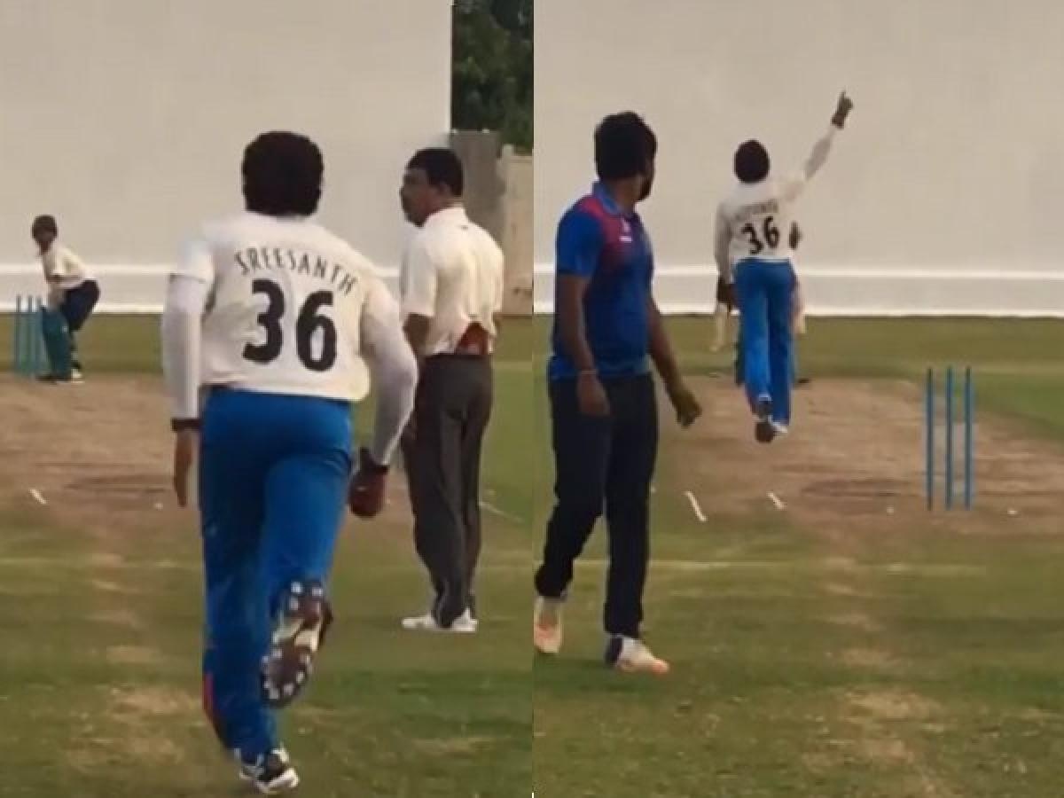 WATCH: भारतीय टीम में वापसी के लिए श्रीसंत ने शुरू किया अभ्यास, जल्द हो सकती है वापसी! 14
