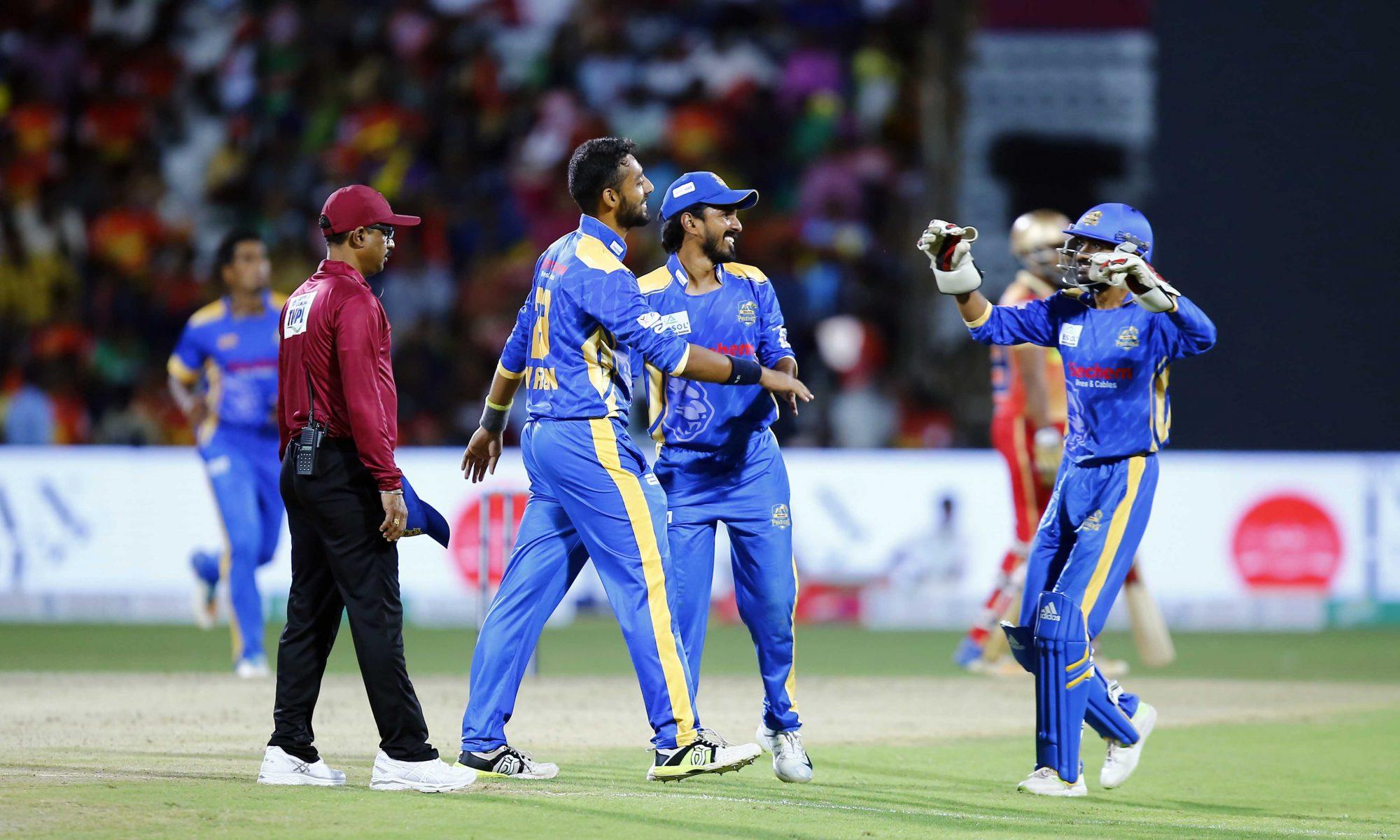 TNPL19- मदुरई पैंथर्स ने शानदार फॉर्म में चल रही चेपॉक सुपर गिलिज को 33 रन से हराया 15