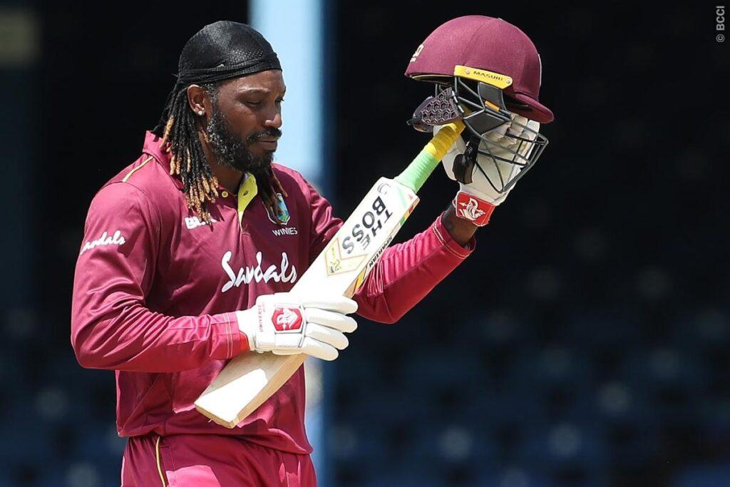 WATCH: भारतीय खिलाड़ियों ने क्रिस गेल को आउट होने के बाद ऐसे दी विदाई, संन्यास की अटकलें तेज तेज 1