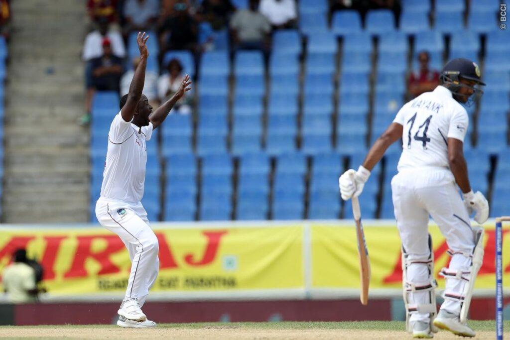 WIvIND, पहला टेस्ट: पहले दिन के दूसरे सत्र में भारतीय बल्लेबाजों की अच्छी वापसी, रहाणे का अर्धशतक 1