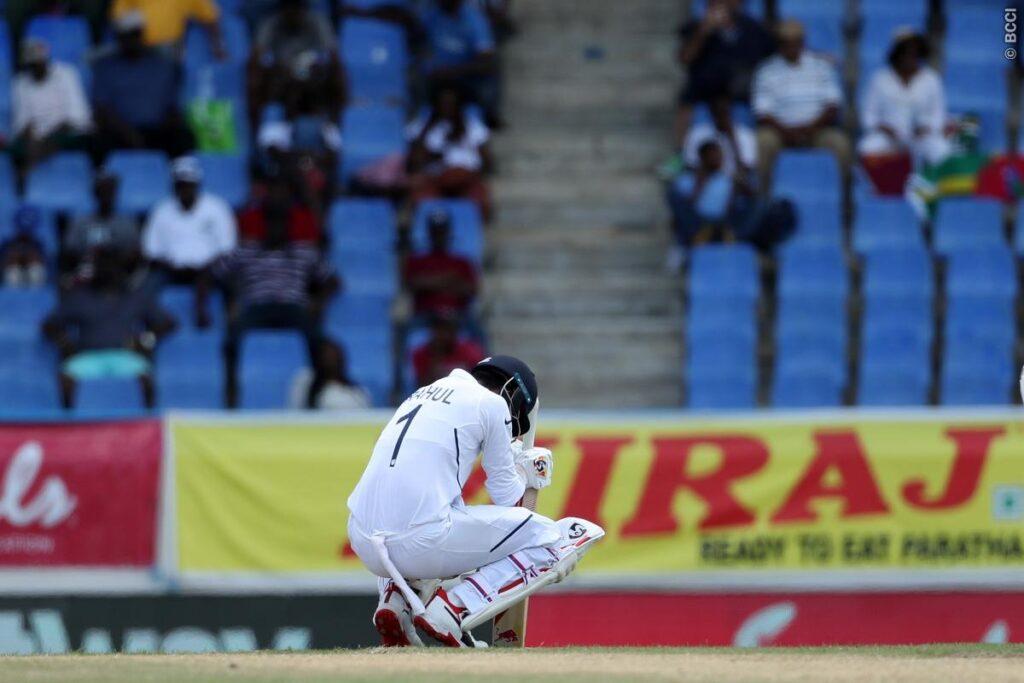 WIvIND, पहला टेस्ट: पहले दिन के दूसरे सत्र में भारतीय बल्लेबाजों की अच्छी वापसी, रहाणे का अर्धशतक 2